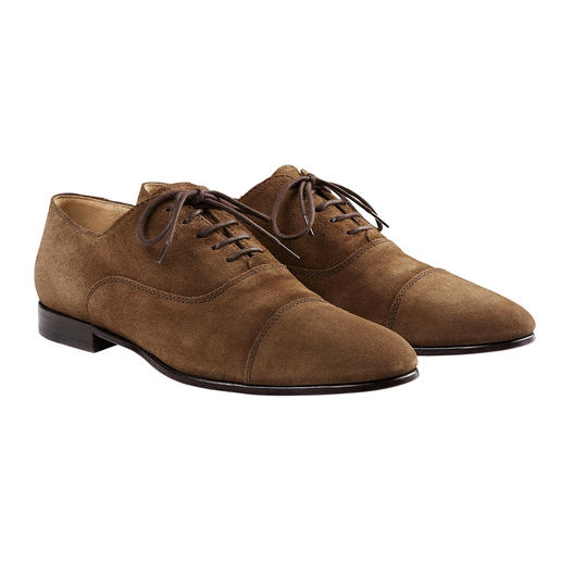 Lottusse Sacchetto Derby Shoes It's hard to find a more flexible and comfortable business shoe. The finest Sacchetto style.