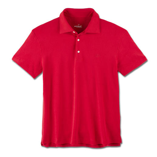 van Laack Terry Polo See just how stylish a very soft terry shirt can be. Classic polo style. Tailored collar.