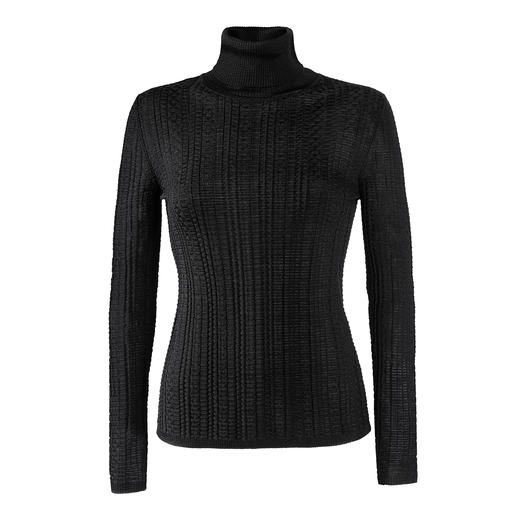 M Missoni turtleneck pullover Basic turtleneck in fashionable pattern mix: rarely so fine and elegant. By couture knitwear label M Missoni.