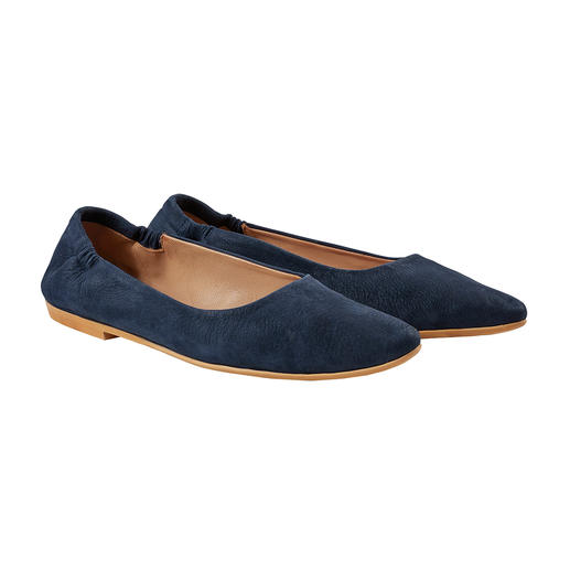 Marta Ray Soft Ballerinas The Sacchetto ballerinas by Marta Ray, Italy. Pressure-free fit with optimum heel grip.