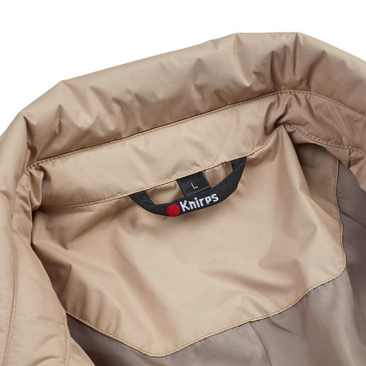Knirps® Rain Trenchcoat, Men Water repellent and breathable. Easy to store and wonderfully light. Washable and quick to dry.