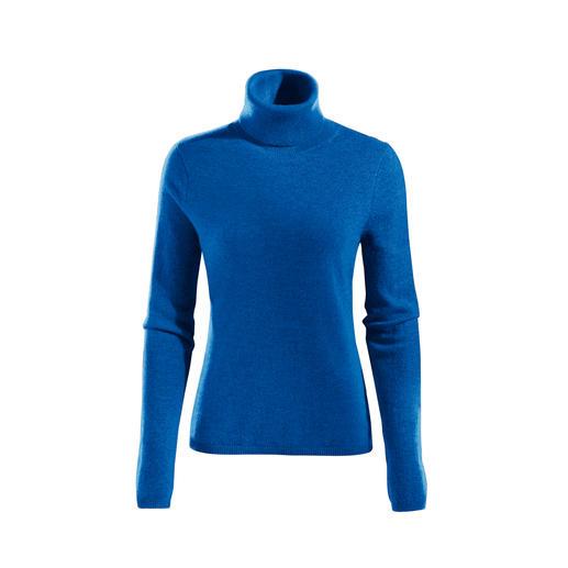 Polo Neck Royal Blue
