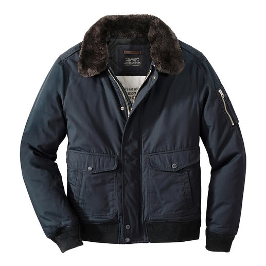 Schott Nylon Flight Jacket Trendy again: the flight jacket. But make sure it's the original by Schott NYC.
