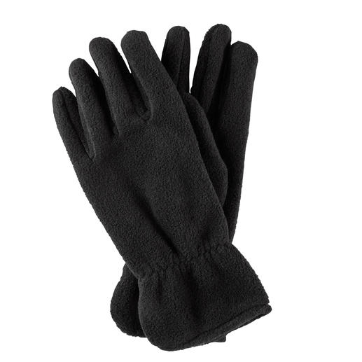 Loevenich Fleece Fingered Gloves Warming Polartec® fleece – styled like elegant leather gloves. By Loevenich, Germany.