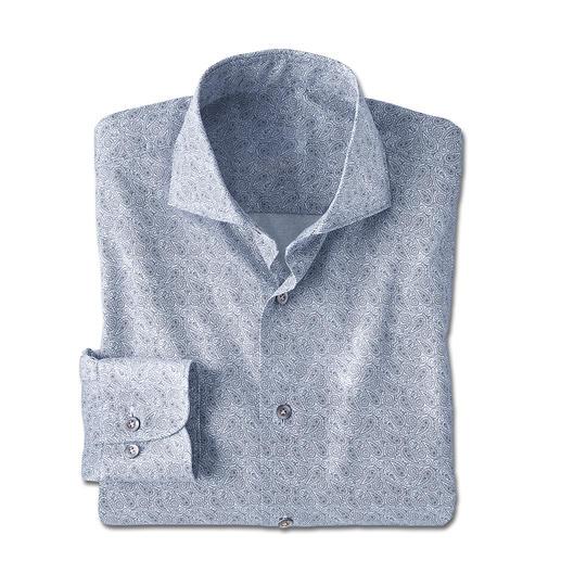 Dorani Paisley Shirt - A classic design on ties. Red-hot as a shirt: The paisley pattern. Stylish, digitally printed design. Dorani.