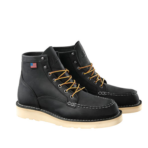 Danner Worker-Boots, Black Often copied, never equalled: the cult boots from Danner from Portland/Oregon, USA.