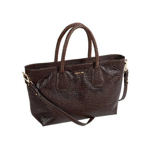Cerruti 1881 Calf Leather Bag Both fashionable and classic. And incredibly versatile. Made in Italy by Cerruti 1881.