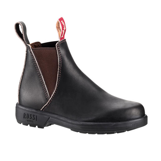Rossi Women's Farmer Boots Often copied. Never matched in quality. Hard to find in this country. The Farmer Boots by Rossi, Australia.
