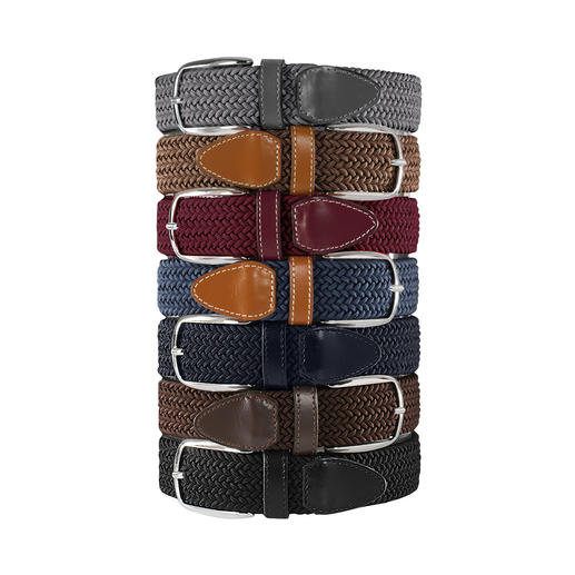 Elasticated Belt, Men - Brilliantly comfortable belt. Infinitely adjustable and elastic.