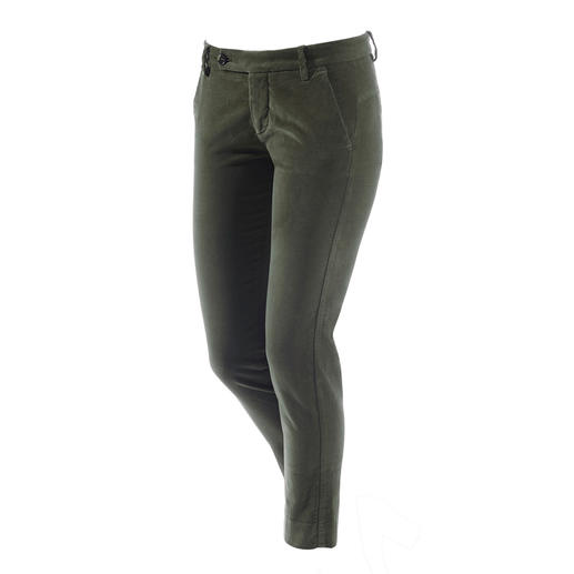 true nyc® velvet trousers - Timelessly modern: Velvet trousers by the Italian label true nyc®.