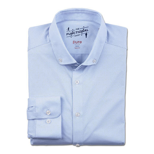 Hatico Functional Business Shirt Proper business look – with all the advantages of a running shirt. Bi-elastic. Temperature-balancing.