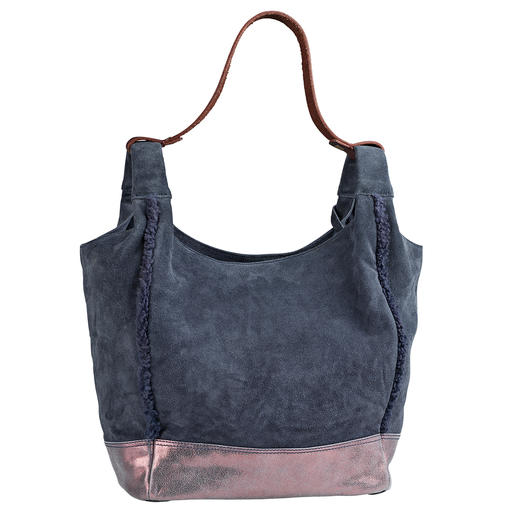 Anokhi Suede Bag Light and casual. Practical and easy to combine. And even pleasantly affordable.