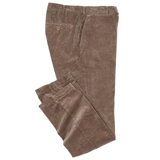 Hoal Camel Hair Cord Trousers - Super-soft feel. Flowing drape. Shimmering lustre. Refined with real camel hair: Luxury cord by Duca Visconti.