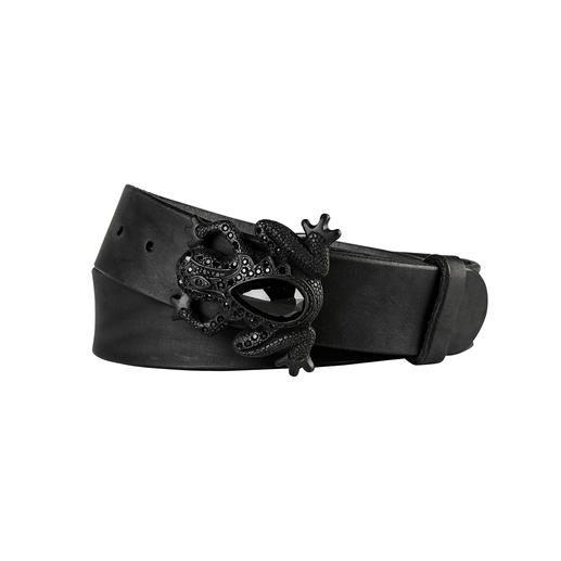 Fausto Colato Frog Belt A work of art for waist and hips. The richly adorned belt with frog buckle. By Fausto Colato, Milan.