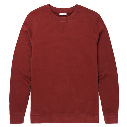 "Sunspel Loopback Sweatshirt Fashion revival sweatshirt. Classic ""Loopback"". By Sunspel, England. Tradition since 1936."