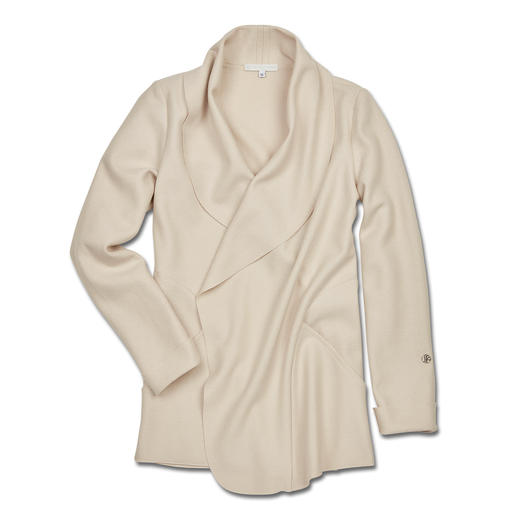 Sabine Sommeregger Felted Wool Blazer - Felted wool as you've never experienced it before: Superbly light and soft.