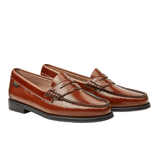 "Original penny loafers. Original penny loafers. The ""Weejuns"" by G. H. Bass & Co. from Maine/USA."