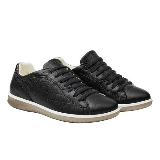 TBS Washable Womens' Leather Trainers Always looks immaculate: These leather trainers can be washed in the machine. Made in France. By TBS.