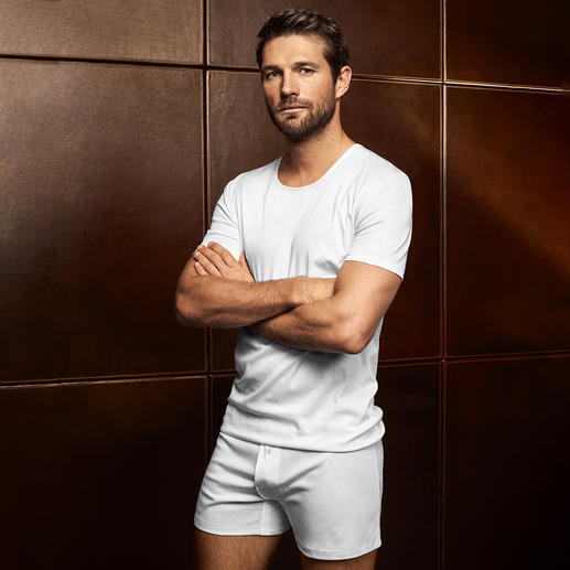 Zimmerli Sea Island Men's Shirt, Boxer Shorts or Briefs Treat your skin to one of the most delicate cotton varieties in the world. Sea Island underwear by Zimmerli.