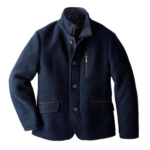 Steinbock® Felted Wool Sports Jacket Sports jacket by Steinbock®/Austria, outdoor specialist since more than 80 years.