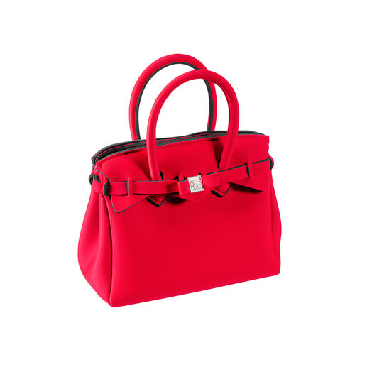 Ultralight Mini Bag Classic look, innovative material: This ultra-light handbag weighs only 215g (7.6 oz). By Save My Bag.