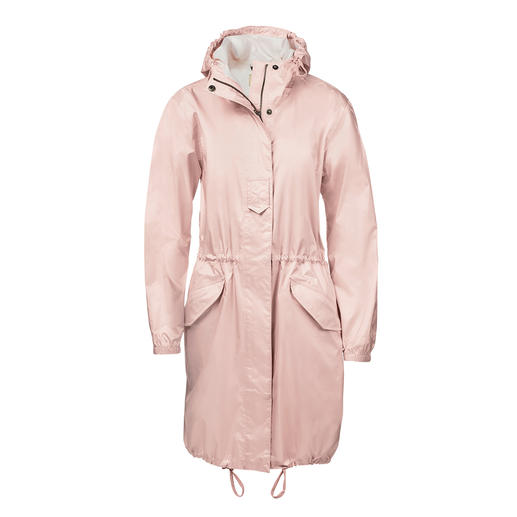 Aigle Pocket Rain Parka - More chic and well-dressed than typical folding rain jackets. The pocket parka from Aigle, France.