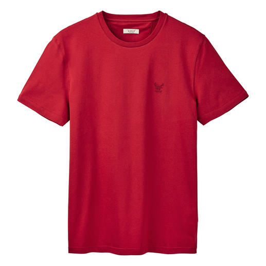 Aigle Cotton Functional Top Dry-fast®. UV-CONTROL®. And yet 100% soft, skin-friendly cotton. From Aigle, France.
