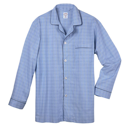 Brooks Brothers Supima Pyjamas Feels softer, looks good for longer: The elegant pyjamas made of rare Supima® cotton.