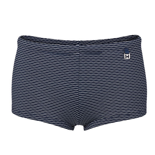 HOM Jacquard Swimming Trunks Less shiny, more stylish and more durable than most. Jacquard woven swimming trunks by HOM, France.