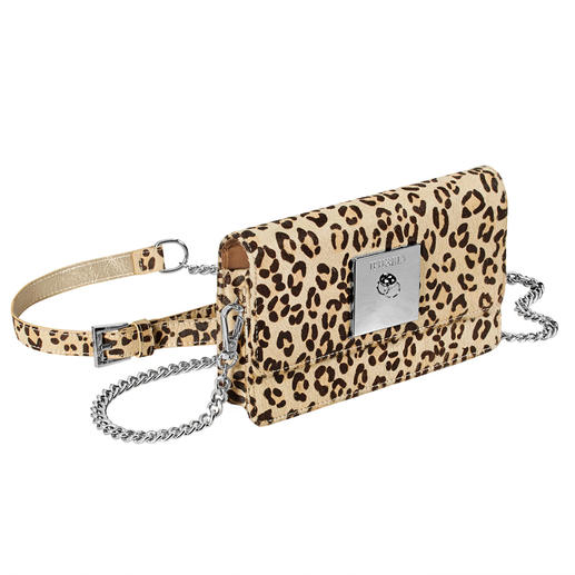 Leopard Bag with Power Bank - Currently, probably the most fashionable smartphone gadgets are from Berlin. By Iphoria.