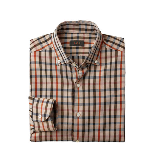 DAKS House Check Checked Shirt Don't wear just any check, but wear the original house check by DAKS London.