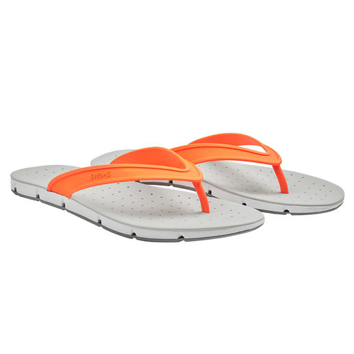 "SWIMS ""Breeze"" Pool Shoes All round fresh air for your feet. The ""Breeze"" pool shoes let in air to the soles of your feet from below."