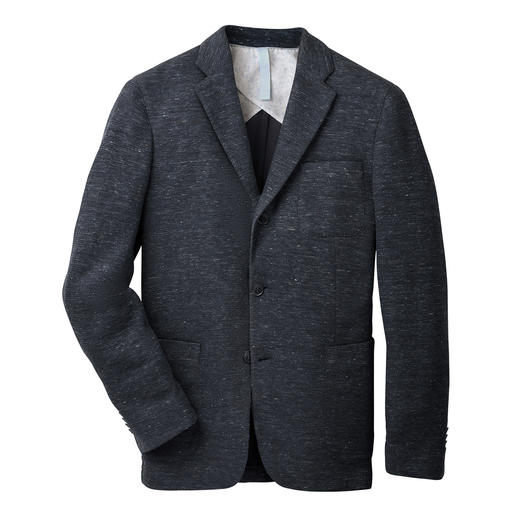 Barutti linen-jersey jacket - Comfortable elastic. Pleasantly light. And yet unmistakeably, stylistically confident. By Barutti.