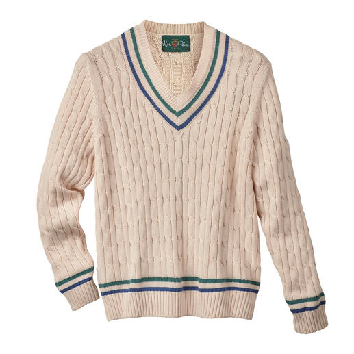 Alan Paine invented the legendary cricket jumper. And then reinvented it. Alan Paine invented the legendary cricket jumper. And then reinvented it.