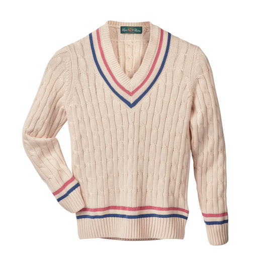Alan Paine Women's Cricket Jumper Alan Paine invented the legendary cricket jumper. And then reinvented it. The renaissance of a fashion classic.