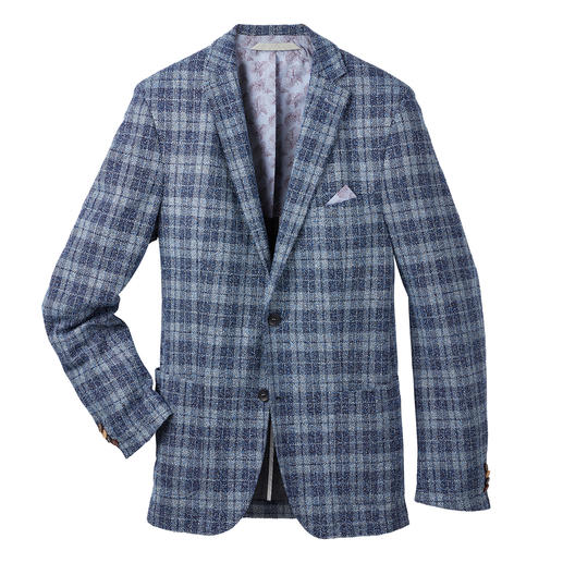 Carl Gross Bouclé Jersey Sports Jacket The typical look of the fashion favourite bouclé. But with a new lightness and comfort. By Carl Gross.