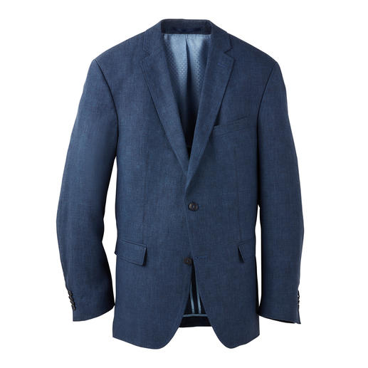 Look a true gentleman – even when it's over 30 degrees. Look a true gentleman – even when it's over 30 degrees. A rare find: A two-piece ensemble made of pure linen.
