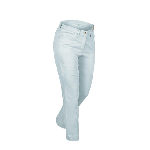 RAPHAELA-BY-BRAX Magic Waistband Trousers, Blue Probably the most comfortable trousers you'll ever own: The Magic Waistband trousers by RAPHAELA-BY-BRAX.