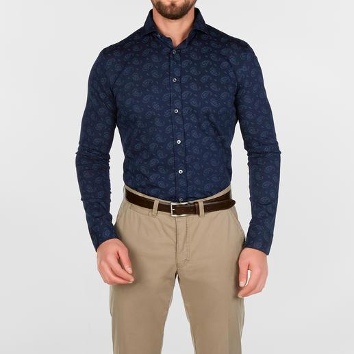 Dorani Paisley Jersey Shirt