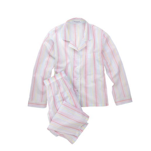Novila Pastel Stripes Pyjamas Pyjamas that make a good first impression every morning.