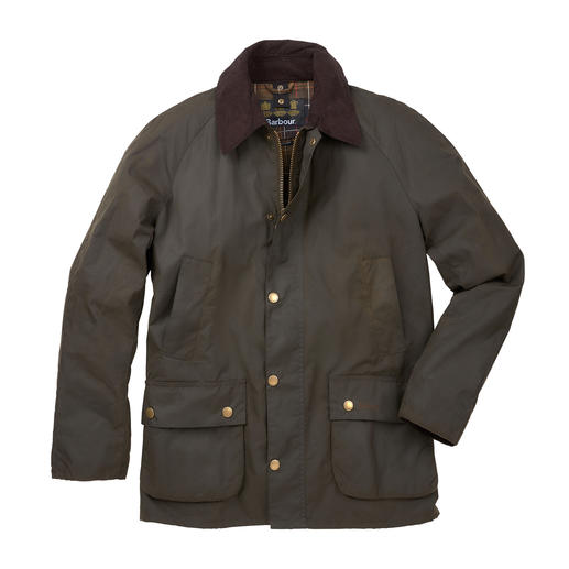 Barbour Men's Wax Jacket Ashby Weatherproof, windproof and thornproof. And almost unchanged for 125 years.