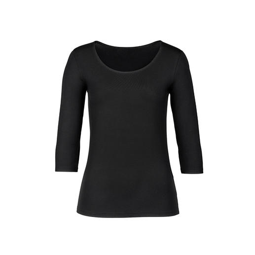 24-hour basics made in Austria: Shirt, skirt and cardigan from the basics specialist Moya. High quality, comfortable and easy-care. Perfect for combining. Amazingly good price.
