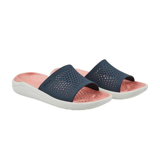 Crocs™ LiteRide™ Women's Pool Shoes Very good Crocs™ have become even better Crocs™. The new LiteRide™ collection is 40% softer, 25% lighter, etc.