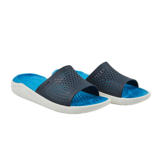 Crocs™ LiteRide™ Men's Pool Shoes The new LiteRide™ collection is 40% softer, 25% lighter, etc. Very good Crocs™ have become even better Crocs™.