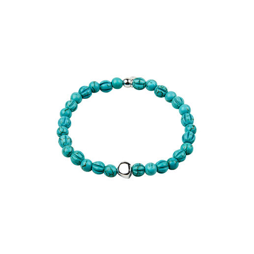 Tateossian Turquoise Bracelet The bang on-trend bracelet made of rare turquoise. Handmade by Robert Tateossian, London.