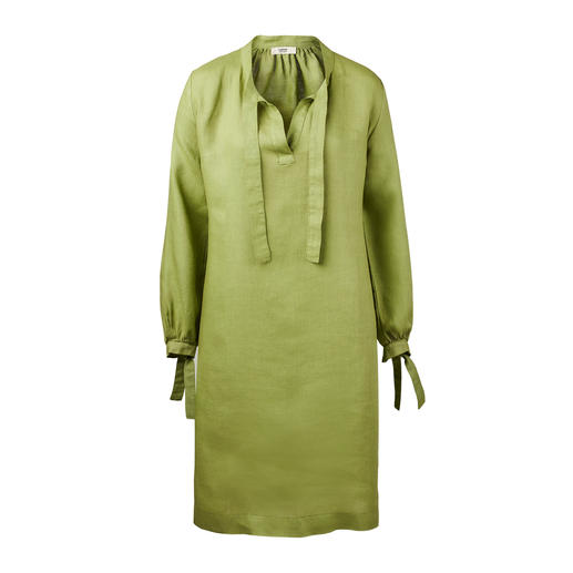 Soft Linen Dress The original linen look – but surprisingly soft feel and flowing fall. The airy summer dress of Italian linen.