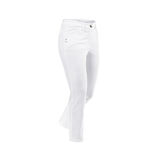 Magic 7/8 Summer Trousers - These magic cotton trousers shape your figure like a corset – and are still extremely comfy.