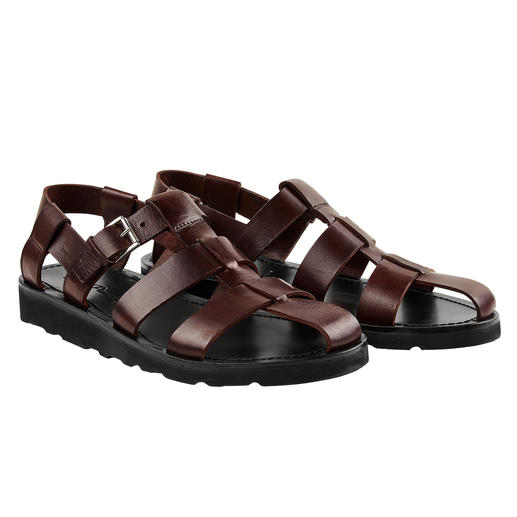 Piaceri Sandals Stylish, top-quality and therefore can even be worn with a suit. By Enrico Piaceri.