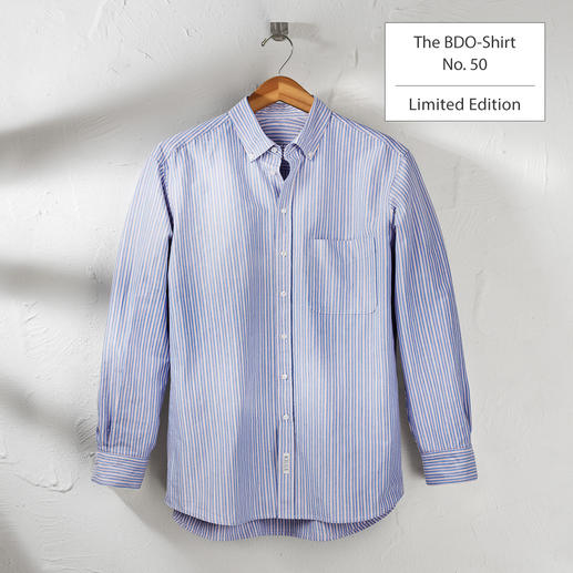 The BDO Shirt, Limited Edition No. 50 - Meet a good old friend. And forget that shirts always need ironing.