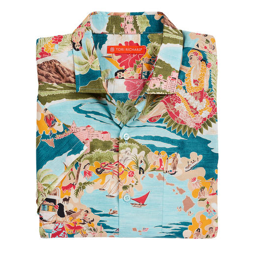 Tori Richard Aloha Shirt The Aloha Shirt from Tori Richard. Made in Hawaii.